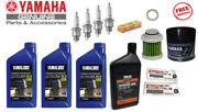 Yamaha 1995-2004 F50 T50 Maintenance Oil Change Kit Fuel Filter Gear Lube T50tlr