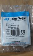 John Guest Pi0308s-us 90 Degree Elbow Union 1/4 Lot Of 300 Pieces