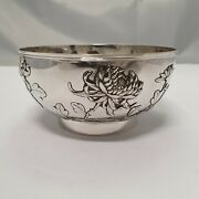 A19 Antique Chinese Export Silver Shell / Schale China Silber Zeewo 1900