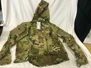 New Army Ocp Multicam Level 5 Soft Shell Jacket Cold Weather Top - Large/regular