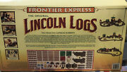 Rare Lincoln Logs The Frontier Express Robbery Train Set Brand New Nrfb