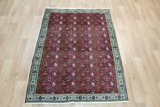 Old North West Persian Rug Floral Design And Superb Colours 140 X 100 Cm