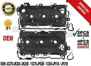 Oem Valve Cover W/ Gaskets Lh Rh For 09-14 Nissan Murano Quest 3.5l 13264jp01a