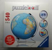 Ravensburger Puzzle Ball Globe 3-d New In Box