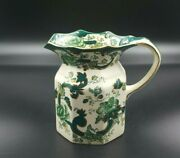 Masonand039s Green Chartreuse Large Hydra Jug-excellent Condition