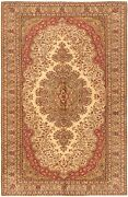 Hand-knotted Carpet 6and0395 X 9and03910 Traditional Vintage Wool Rug