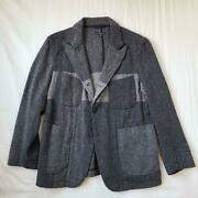 Engineered Garments Woolrich Bedford Jacket Coat Gray Xs 17aw From Japan Used