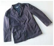 Engineered Garments Andover Jacket Dark Navy High Count Twill Men Xs From Japan