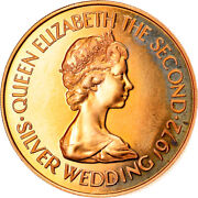 [905850] Coin Jersey Elizabeth Ii 50 Pounds 1972 Ms Gold Km43