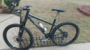 A Used 17.25inthompson Mountain Bike With All The Bells And Whistles