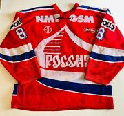 1992 Russia National Team Game Worn Tackla Jersey - Izvestia Cup Cupolas Style