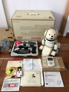 Sony Aibo Latte Ers-311b Entertainment Robot Dog Set From Japan [excellent]
