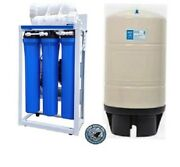 Ro Reverse Osmosis Water Filtration System 600 Gpd - Booster Pump 20 Filters