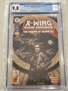 Star Wars X-wing Rogue Squadron 25 Cgc 9.8 2nd Thrawn Low Census Pop 1 Of 4 9.8