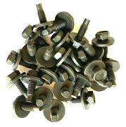 5/16 Fender And Body Bolts 5/16-18 X 7/8 Dogpoint Loose Washer Qty-25 18