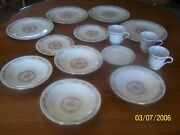 Vintage Liling Fine China Yung Shen Keepsake Pattern In Good Condition