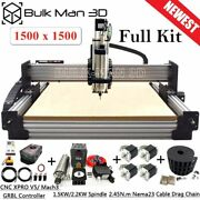 Newest 1515 Workbee Cnc Router Machine Tingle Tension System 4 Axis Engraving