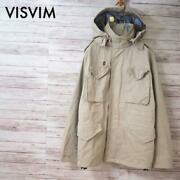 Visvim Authentic Gore-tex M-65 Field Jacket Bickle Beige Size M Used From Japan