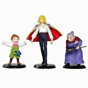 Cominica Studio Ghibli Collection Howls Moving Castle Set Of 3