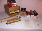 American Flyer 5520t Train Set 372 U.p. Diesel Engine And Freight Lot M-139