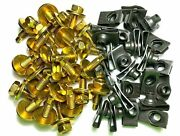 5/16 Body Bolts And U-nut Clips 5/16-18 X 15/16 25 Each 1591 1054/19