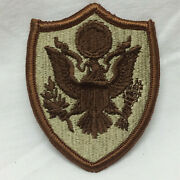 Vintage Military Army Shoulder Shield Insignia Patch App 2 7/8 Tall