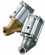 Smc Angle Seat Pneumatic Operated Process Valve 3/8 In G