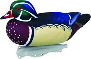 Flambeau 8018suv Storm Fishing Lure Front 2 Classic Floater Wood Duck Decoys