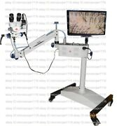 Colposcope, With Camera And Led Monitor