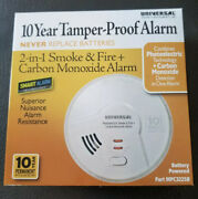 Universal Security 10 Year Smoke And Fire+carbon Monoxide Detector Alarm Mpc322sb