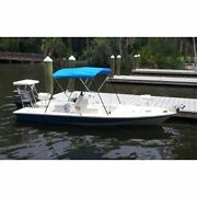 Carver A5475ub-4 54h Pacific Blue Boat Bimini Top - 73 To 78 New
