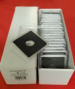 2x2 Coin Holders Box Of 20 Guardhouse Snaplocks For 1/10 Ounce Gold Eagles