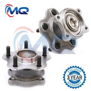Pair Rear Wheel Hub Bearings Right And Left New For Altima Maxima 5 Bolts 512202