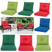 Outdoor Deep Seat Chair Patio Cushions Set Pad Uv And Fade Resistant Furniture