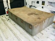 Old Antique Butcher Block Table Large 51 X 31 X 11 Maple Top 6 Legs Slaughter