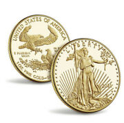 2021 W American Eagle One Ounce Gold Proof Coin 50 21eb In Hand