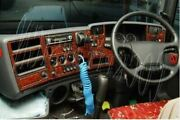 To Fit 2009+ Scania Pgr 6 Series Mahogany Wood Effect Dash Kit -right Hand Drive
