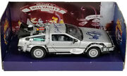 Michael J Fox Christopher Lloyd Signed Back To The Future 124 Diecast Delorean