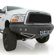 Smittybilt M1 Dodge Truck Winch Mount Front Bumper With D-ring Mounts And Light