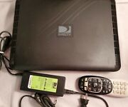 Directv Hr44-200 Hd Dvr Receiver Ac Adapter And Remote Works