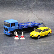 Tiny 80m Hong Kong Man Flated Tow Truck 1/64 Diecast Car Collection Mth003