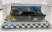 1955 Chevy Custom With Flames 1/25 Scale Die-cast True Value 2009 By Auto World