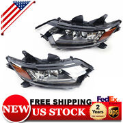 For 2016-2020 Mitsubishi Outlander Left And Right Side Halogen Headlight Head Lamp