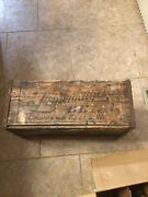 7.5andrdquo Tall Wooden Case Leinenkugels Beer Chippewa Falls Wisconsin Advertising