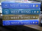 4 The West Wing Season Dvd Lot Season 1, 2, 3 And 4 All W/slipcovers Rob Lowe