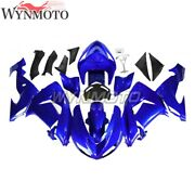 Motorcycle Blue Full Abs Plastic Fairings For Zx10r 2006 2007 Zx-10r 06 07