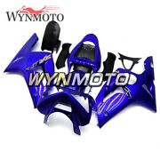 Motorcycle Abs Plastic Blue Fairings For Zx6r 2003 2004 03 04 Zx-6r Bodywork