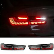 Led Taillights Assembly For 2019-2021 Bmw 3 Series G20 Smoked Led Rear Lights