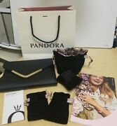 New Pandora Lot - Crossbody Clutch Purse Catalog Gift Bag Pouches Cleaning Cloth