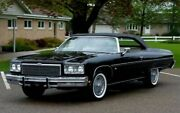 1971-1975 Caprice Olds 88 Stayfast Convertible Top Glass Window And Pads - Black